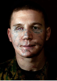 """Memes, 🤖, and Medal of Honor: Please Salute and Say GOD BLESS! To Retired Marine CPL William """"Kyle"""" Carpenter Medal of Honor recipient for saving a soldier from a grenade blast.  Like and Share in respect for this Heroes Bravery! #MilitaryLiveMatter"""