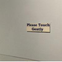 Touch and Please: Please Touch  Gently