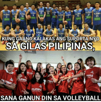 Volleyball, Filipino (Language), and Never: PLIPNAS  21PILIPINAS  14  35  PLIPNA  KUNG GAANO KALAKAS ANG SUPORTANYO  SA GILAS PILIPINAS,  LIPINA  PILIPINA  SANA GANUN DIN SA VOLLEYBALL Support our Philippine National Team like never before! 🏐