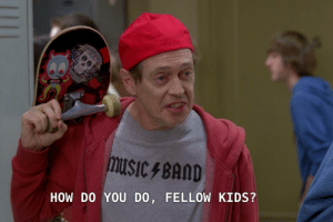How I see the Mainstream Media when they talk about memes and viral videos: plon  musiC 4BAND  HOW DO YOU DO, FELLOW KIDS? How I see the Mainstream Media when they talk about memes and viral videos