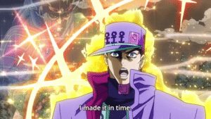 Plot twist: jotaro needed the extra time not to reach kira but to punch him into the ambulance once it was going fast enough so the driver would surely run him over w/o being able to stop.: Plot twist: jotaro needed the extra time not to reach kira but to punch him into the ambulance once it was going fast enough so the driver would surely run him over w/o being able to stop.