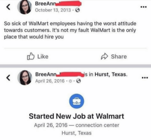 Plot twist: she infiltrated Wal-Mart to impact change from behind enemy lines. *masterful https://t.co/noIn1HttHC: Plot twist: she infiltrated Wal-Mart to impact change from behind enemy lines. *masterful https://t.co/noIn1HttHC