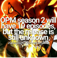 Lol, Fandom, and Episodes: PM season 2 will  ave 19 episodes.  there case is You better be hyped - Mell Crds to @animemikku aka me lol