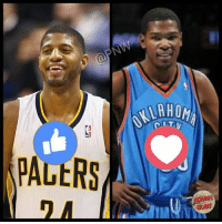 Paul George or Kevin Durant?   -BUST: PNW  (a PALtRS  BUET Paul George or Kevin Durant?   -BUST