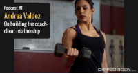 Podcast #11  Andrea Valdez  On building the coach-  client relationship  COM Check out rippedbody.com to listen to my coauthors on @themuscleandstrengthpyramids Andy Morgan and Andrea Valdez discuss the coach-client relationship