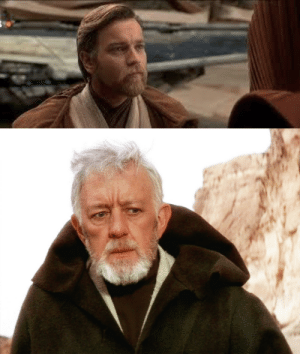 poefuckingdameron: jewishzevran:  lieutenantriza:  literally like what??? 20 years? passed between revenge of the sith and a new hope and obi wan aged about 50 years  look anakin was hard on him ok  anakin's bullshit added 30 years into obi-wan's life : poefuckingdameron: jewishzevran:  lieutenantriza:  literally like what??? 20 years? passed between revenge of the sith and a new hope and obi wan aged about 50 years  look anakin was hard on him ok  anakin's bullshit added 30 years into obi-wan's life