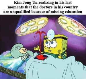 poetryofyouth:  vaporwavevocap:Like Stalin when he sent a majority of trained doctors to gulags because they were Jewish. There were Jewish people in North Korea in the first place?   No one was saying the NK doctors were Jewish. She's bringing up a similar situation, a dictator eliminating the ones capable of helping him.: poetryofyouth:  vaporwavevocap:Like Stalin when he sent a majority of trained doctors to gulags because they were Jewish. There were Jewish people in North Korea in the first place?   No one was saying the NK doctors were Jewish. She's bringing up a similar situation, a dictator eliminating the ones capable of helping him.