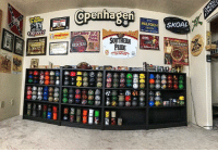 Goals, Memes, and Discover: POiCH SKOAL  GRIZZIY  ore oFA  Discover Gold  hinUT  RED SEAL  PRIDE Man cave goals 😳 mudjug mancave dip30 @outlawdipper