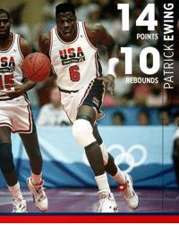 25 years ago today, Patrick Ewing dropped a double-double against Spain.  The Dream Team's average margin of victory in Group Play?   45.8: POINTS  REBOUNDS  0  0 25 years ago today, Patrick Ewing dropped a double-double against Spain.  The Dream Team's average margin of victory in Group Play?   45.8
