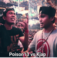 Mamayang gabi na!  Poison13 vs Kjap  Thoughts?  Second Sight 5 B-side Makati 9PM  P150 Entrance: Poison 13 vs Kjap Mamayang gabi na!  Poison13 vs Kjap  Thoughts?  Second Sight 5 B-side Makati 9PM  P150 Entrance
