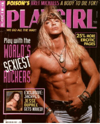 Bret michaels penis, ass pussy bitch