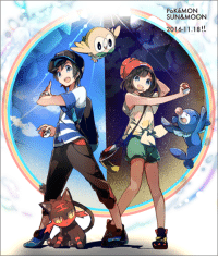 Sun or Moon? If you're a trainer, we have the rare candy goods you need: http://j.mp/2g5tZnP  Art via http://j.mp/2gtrEXI: POKéMON  SUN&MOON  2016-11.18 Sun or Moon? If you're a trainer, we have the rare candy goods you need: http://j.mp/2g5tZnP  Art via http://j.mp/2gtrEXI