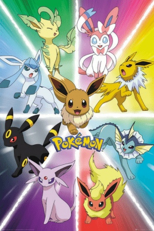 Pokemon Eevee Evolution