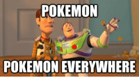 Reddit today: POKEMON  POKEMON EVERYWHERE  quick meme com Reddit today