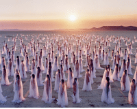 Tumblr, Blog, and Http: polaris802: Desert Spirits by Spencer Tunick