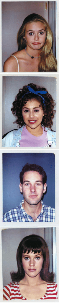 Funny, Clueless, and Set: Polaroids from the set of Clueless https://t.co/d1Q0jmX0r5