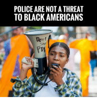 America, Charlie, and Crime: POLICE ARE NOT A THREAT  TO BLACK AMERICANS  Pr TRUTH! Charlie Kirk Is Spot On... Black On Black Crime, NOT Police Brutality Is The Big Issue Facing Black America!