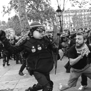 Police attack unarmed anti-war protesters (1964): Police attack unarmed anti-war protesters (1964)
