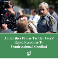 "Petty, Police, and Precious: POLICE  Authorities Praise Twitter Users  Rapid Response To  Congressional Shooting <p><a href=""http://theonion.tumblr.com/post/161825073781/alexandria-varecounting-how-they-rushed-to-the"" class=""tumblr_blog"">theonion</a>:</p>  <blockquote><p>ALEXANDRIA, VA—Recounting how they rushed to the social media platform in a matter of moments, local authorities Wednesday praised Twitter users' rapid response to the shooting of a Republican congressman and four others. ""We would like to acknowledge those Twitter users who, without any hesitation, immediately leaped into action after they saw the first headline about today's tragedy,"" said Alexandria Police Chief Michael Brown, adding that they didn't think twice before assigning blame or fueling speculation, willingly engaging in petty arguments and personal attacks in a situation where any normal person would have just stayed away. ""Focused and intent on getting their takes out there, they disregarded all consequences and, as if by instinct, jumped right into the fray, not wasting precious seconds confirming the veracity of their claims or checking the spelling of their statements."" Brown went on to say that this level of dedication should come as no surprise to anyone, as Twitter users go above and beyond like this every single day.<br/></p></blockquote>"