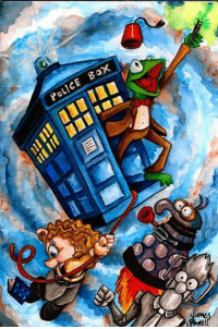Boxing, Memes, and Police: POLICE BOX ❤️❤️