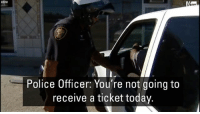 Memes, Police, and Thanksgiving: Police Officer: You're not going to  receive a ticket today. Turkeys, not tickets: The Fort Worth Police Department is handing out turkeys to unsuspecting drivers just in time for Thanksgiving. In keeping with the season of giving, one driver turned out to be a pastor who was on a mission to collect turkeys to give to others.