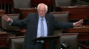 politijohn:Holy shit, Bernie just popped off on the Senate floor: politijohn:Holy shit, Bernie just popped off on the Senate floor