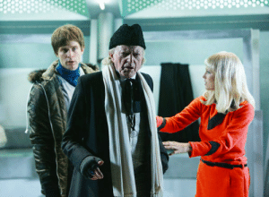Doctor Who, David Bradley, and  Polly: Polly and David Bradley