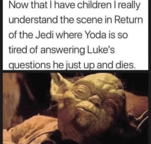 Poor, poor Yoda. This is so sad 😢: Poor, poor Yoda. This is so sad 😢