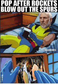 Rough night for San Antonio.  Credit: Kevin Feeney: POP AFTER ROCKETS  BLOWOUT THE SPURS  @NBAMEMES Rough night for San Antonio.  Credit: Kevin Feeney