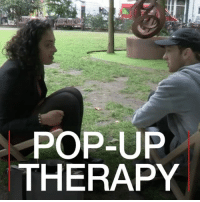 "21 JUL: A clinical psychologist in London is experimenting with ""problem-solving booths"", impromptu spaces in public where strangers can volunteer to share their problems and also listen to other people's. The idea to make mental health more informal and accessible. The scheme is backed by the NHS and the Mayor of London's office. The results of the project are still being assessed, but if enough people use it, it will be rolled out more widely. Find out more: bbc.in-popuptherapy Therapy MentalHealth Psychology BBCWorldHacks BBCShorts BBCNews @BBCNews BBC: POP-UP  THERAPY 21 JUL: A clinical psychologist in London is experimenting with ""problem-solving booths"", impromptu spaces in public where strangers can volunteer to share their problems and also listen to other people's. The idea to make mental health more informal and accessible. The scheme is backed by the NHS and the Mayor of London's office. The results of the project are still being assessed, but if enough people use it, it will be rolled out more widely. Find out more: bbc.in-popuptherapy Therapy MentalHealth Psychology BBCWorldHacks BBCShorts BBCNews @BBCNews BBC"