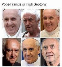 Lol, Memes, and Pope Francis: Pope Francis or High Septon?  The.purple.so Lol wtffff