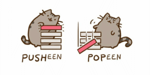 This is epic: POPEEN  PUSHEEN This is epic