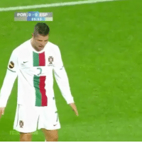 Memes, Goal, and 🤖: POR 0-0 ESP  35:5 Throwback to when Nani stole Ronaldo's solo goal and was offside... 🙈👀