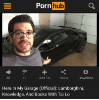 Here in my garage just bought this uhh new Lamborghini here. It's fun to drive up here in the Hollywood hills pornhubadventures: Porn  hub  Add To  30  Download  12  Share  Here In My Garage (Official): Lamborghini,  Knowledge, And Books With Tai Lo Here in my garage just bought this uhh new Lamborghini here. It's fun to drive up here in the Hollywood hills pornhubadventures