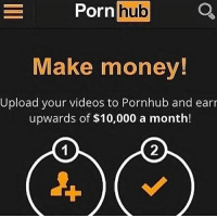 Posting a collage of memes through iPhone slideshow gallery thang: Porn hub  Make money!  Upload your videos to Pornhub and earr  upwards of $10,000 a month!  2 Posting a collage of memes through iPhone slideshow gallery thang