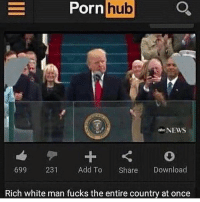 """He calls his little guy """"the trumpinator"""": Porn  hub  NEWS  699 231  Add To  Share  Download  Rich white man fucks the entire country at once He calls his little guy """"the trumpinator"""""""