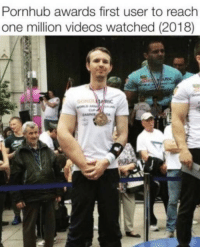 Pornhub, Videos, and One: Pornhub awards first user to reach  one million videos watched (2018)  IC theWhoosh
