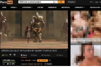 "Blowjob, Chill, and Community: Pornhub C  hub  Chill is for a school project  Upload  EN▼ Login St  HOME  VIDEOS  CATEGORIES  LIVE SEXPREMIUM HD  MEET&FUCK  COMMUNITY  PHOTOS &GIFS  GREEN LOLI SLUT IS FUCKED BY GIGANT PURPLE DICK  +Add to  1,331,693 vEwS  From chocos-1 videos  90% 1457 0  Calegories: Blowjob, Toys, MILF. HO  Suggest <p>Stop disgregation memes via /r/dank_meme <a href=""https://ift.tt/2K4HuC9"">https://ift.tt/2K4HuC9</a></p>"