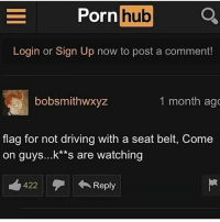 I thought this was a Christian server 😡 Y'all follow @dramup for more 💀💀: -  Pornhub  Pornh05  Login or Sign Up now to post a comment!  bobsmithwxyz  1 month ag  flag for not driving with a seat belt, Come  on guys...k*'s are watching  422  Reply I thought this was a Christian server 😡 Y'all follow @dramup for more 💀💀