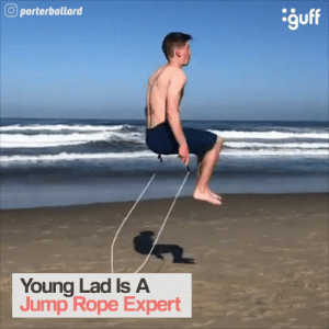 Dude, Instagram, and Memes: porterballard  Young Lad Is A  Jump Rope Expert This dude is siiick. 💯  📷: www.instagram.com/porterballard