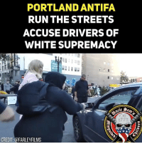 Portland Oregon really need some cleansing. These commies have to go. Portland is a great example of danger of communism, these communists intimated and attack innocent citizens and they are being protected by the democrat officials of the city who have order their police department to not arrest them or touch them. This is where the hole infrastructure of this city needs to be completely replaced.: PORTLAND ANTIFA  RUNTHE STREETS  ACCUSE DRIVERS OF  WHITE SUPREMACY  1775  CREDIT: @FARLEYFILMS Portland Oregon really need some cleansing. These commies have to go. Portland is a great example of danger of communism, these communists intimated and attack innocent citizens and they are being protected by the democrat officials of the city who have order their police department to not arrest them or touch them. This is where the hole infrastructure of this city needs to be completely replaced.