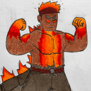 poshtearexdoodles:  Been a while since I did sum Gojinka stuff, and I need to practice drawing muscles so I combined the two with drawing Gojinka Burning Godzilla.Bonus Ghids realising his mistakes:: poshtearexdoodles:  Been a while since I did sum Gojinka stuff, and I need to practice drawing muscles so I combined the two with drawing Gojinka Burning Godzilla.Bonus Ghids realising his mistakes: