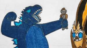 poshtearexdoodles:  Godzilla: AND HERE COMES THE GIANT FISTOkay but this scene is literally Kong vs Godzilla if Kong never got bigger.: poshtearexdoodles:  Godzilla: AND HERE COMES THE GIANT FISTOkay but this scene is literally Kong vs Godzilla if Kong never got bigger.