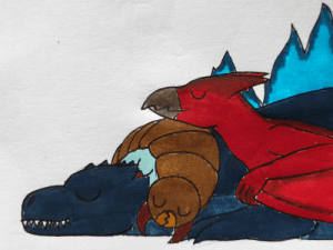 poshtearexdoodles:  poshtearexdoodles:  Godzilla put in so much work this movie, he deserves a nice nap with his two best friends.   OMG MY FIRST ART TO REACH 100 NOTES!!! THANK YOU ALL SO MUCH!!!: poshtearexdoodles:  poshtearexdoodles:  Godzilla put in so much work this movie, he deserves a nice nap with his two best friends.   OMG MY FIRST ART TO REACH 100 NOTES!!! THANK YOU ALL SO MUCH!!!