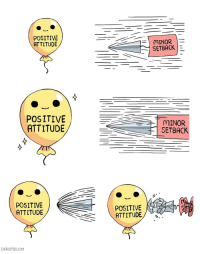 Attitude, Com, and Think: POSITIVE  ATTITUDE  MINOR  SETBACK  POSITIVE  ATTITUDE  MINOR  TI SETBACK  POSITIVE  ATTITUDE  POSITIVE  ATTITUDE/  SHENCOMIX.Com Not what you think