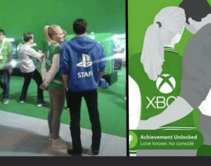 positive-memes:  Love needs no consoles: positive-memes:  Love needs no consoles