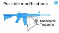 "<p>The superior siege weopon. via /r/MemeEconomy <a href=""http://ift.tt/2rxNlLR"">http://ift.tt/2rxNlLR</a></p>: Possible modifications  Underbarrel  Trebuchet <p>The superior siege weopon. via /r/MemeEconomy <a href=""http://ift.tt/2rxNlLR"">http://ift.tt/2rxNlLR</a></p>"