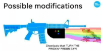modifications: Possible modifications  USA  TODAY  Chemicals that TURN THE  FRICKIN' FROGS GAY!