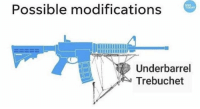 "<p>Modification Memes on the rise. But buy buy!! via /r/MemeEconomy <a href=""http://ift.tt/2ymKO5W"">http://ift.tt/2ymKO5W</a></p>: Possible modifications  USA  TODAY  Underbarrel  Trebuchet <p>Modification Memes on the rise. But buy buy!! via /r/MemeEconomy <a href=""http://ift.tt/2ymKO5W"">http://ift.tt/2ymKO5W</a></p>"