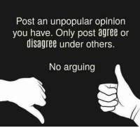9gag, Memes, and Pizza: Post an unpopular opinion  you have. Only post agree or  disagree under others.  No arguing I like pineapple on pizza. Follow @9gag unpopularopinion